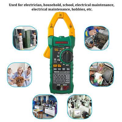 Ms2115a True Rms Abs Home Multimeter Digital Clamp Meter Portable Dc Ac Amper