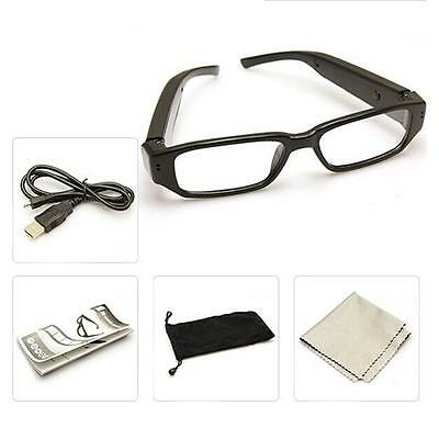 HD 720P Spy Glasses Camera Camcorder Hidden Eyewear Security DVR Video Recorder
