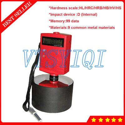 Hartip1500 Metal Leeb Hardness Tester Meter Durometer Built-in Impact Device