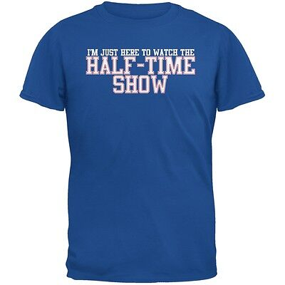 Big Game Half Time Show Metro Blue Adult T-Shirt