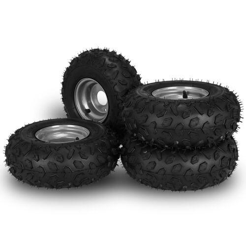 4 Pieces ATV Go Kart Tires 145/70-6 Fit for go-cart, mini-bi