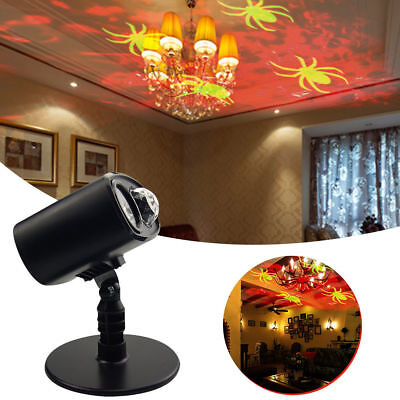 Waterproof Moving Spider Projector Lights Landscape Stage Light for Halloween - Halloween Light Projector