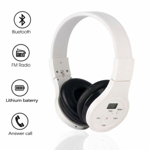 new wireless fm radio headset active noise