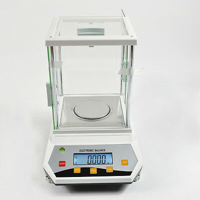 LAB 200G x 0.001 GRAM 1 MG  ANALYTIC PRECISION DIGITAL SCALE BALANCE CE APPLIED