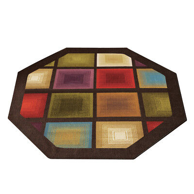 - Optic Squares Geometric Octagon Rug, by Collections Etc