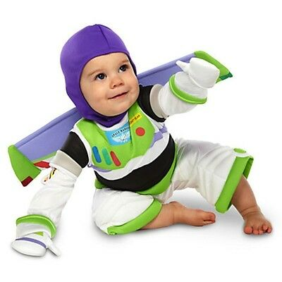 Disney Store Toy Story Buzz Lightyear Costume for Baby Toddler 12 18 24 2T NEW