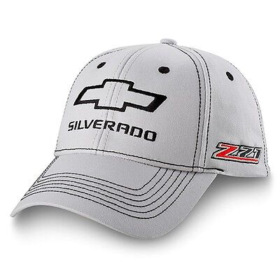 Chevrolet Chevy Silverado Z71 Gray Cotton Licensed Hat