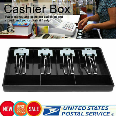 Cash Register Till Insert Tray Replacement Coins Cashier Drawer Box Supermarket