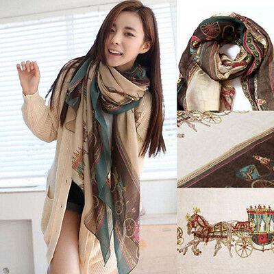 Fashion Women Lady Girls Soft Long Carriage Scarf Large Wrap Shawl Scarves New
