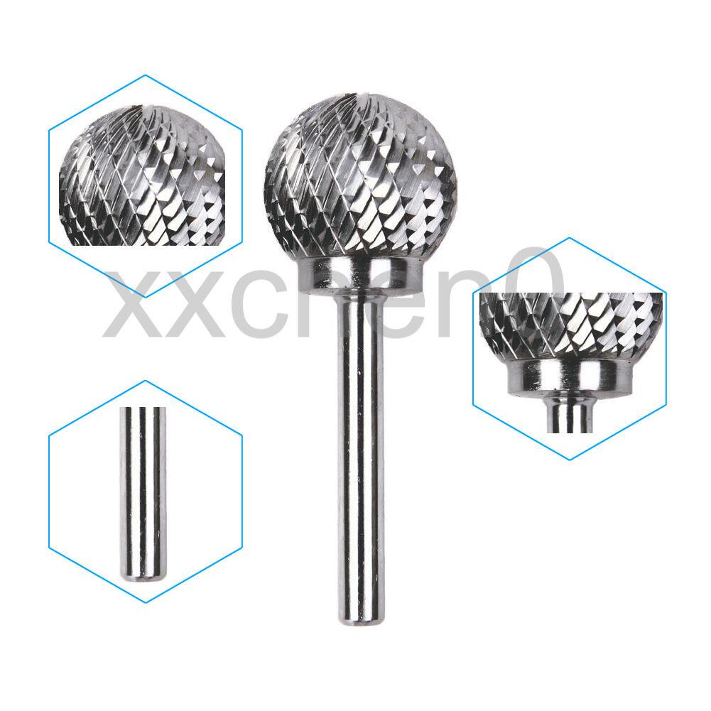 Tungsten Carbide Ball Head Die Grinding Burr Electric Rotary Drill Bit #D252106