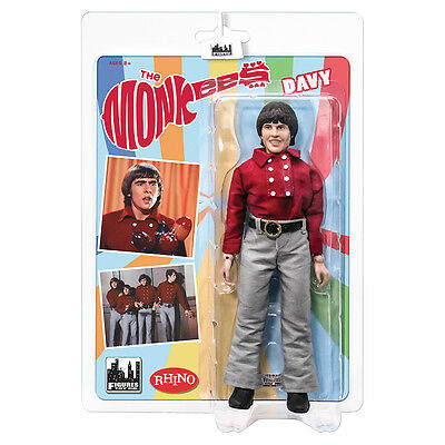 The Monkees 8 Inch Retro Style Action Figures: Red Band Outfit Davy Jones