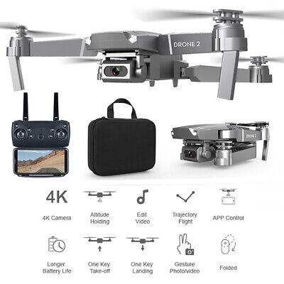 E68 720P/1080P/4K 2.4G Wifi FPV Camera GPS Altitude Hold RC Drone Quadcopter