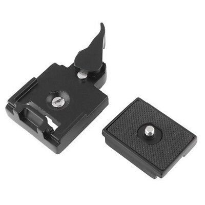 Plate Clamp for Manfrotto 200PL-14 Camera Tripod Quick Release Plate Adapter