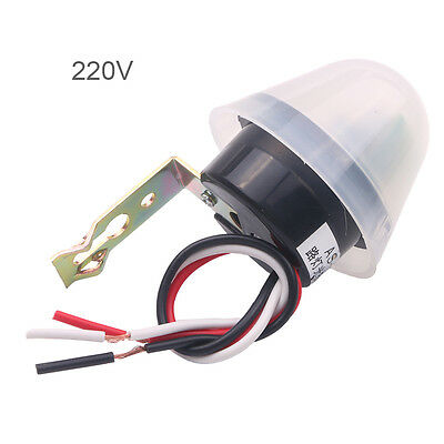 Photosensitive Adjustable Street Light Lamp Photoswitch Sensor Control 220v 10a