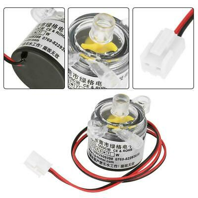 1pc Mini 12v Dc 6w Food Grade Submersible Brushless Water Pump 2lmin New Us