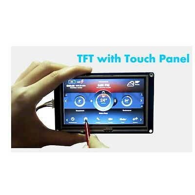 7.0 Nextion Smart Usart Hmi Tft Lcd Touch Screen Display Module For Arduino