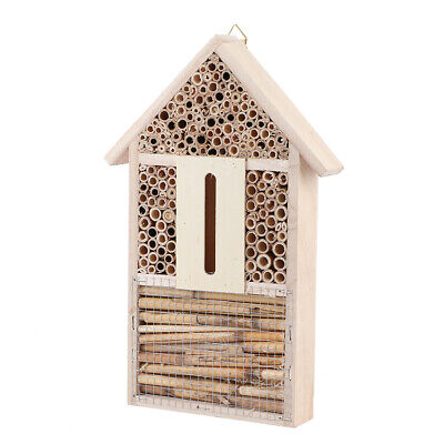 Caja nido de insectos 11.8X7.9X2.4In Bee House Insect House Abejas para insectos