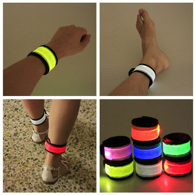 LED Flashing Light Up Glow Bracelet Wristband Vocal Concert Party Props Gift - Concert Led