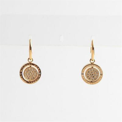Michael Kors Flip Glitz  Drop Earrings  Gold Tone