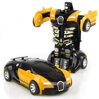Plastic Cars For Toddlers (NEW Toys For Boys Robot Transformers Car Kids Toddler Cool Toy Great Gift)
