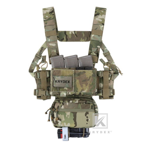 KRYDEX MK3 MK4 Micro Fight Chassis Chest Rig Modular Carrier Mag Pouch Multicam