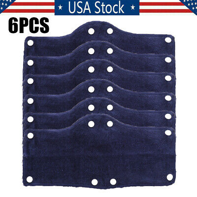 6Pcs Hard Hat Sweatband Cotton Hard Hat Liner- Reusable hardhat sweatbands US A+
