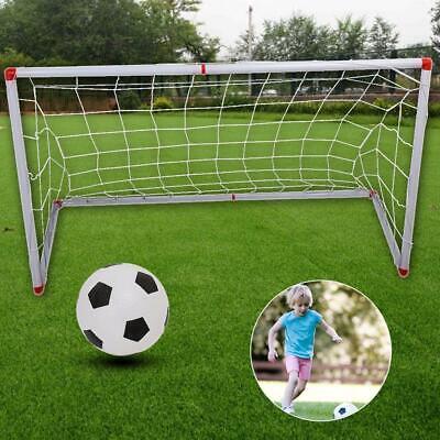Children Football Soccer Goal Post Net with Ball and Inflator Kids Sport Toy - Foot Ball Goal Post