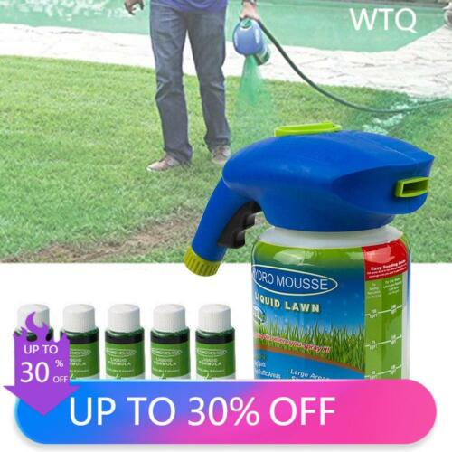 NEW Liquid Hydro Mousse Seeding Grass Green Spray Device Seed Lawn Care Watering