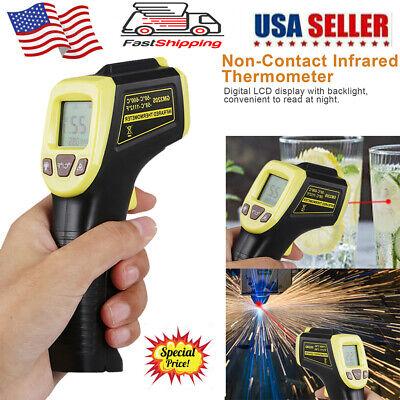 Non Contact Laser Infrared Thermometer Digital Lcd Ir Temperature Pyrometer Gun