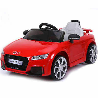Auto Macchina Elettrica Audi TT RS Rossa 6V Per Bambini con Telecomando e Mp3 usato  Sant'Antimo