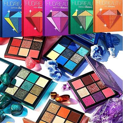 Limited Edition Eye Shadow Paletten (Fashion HUDA Beauty Eyeshadow Lidschatten Palette Limited Edition Begrenzte +Box)