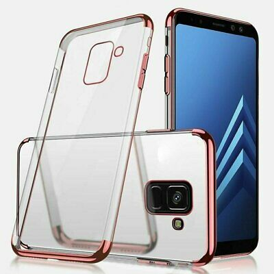 For Samsung Galaxy Note 8 9 10 20 S20 S10 S9 S8 Plus Rubber Clear Case Cover Cases, Covers & Skins