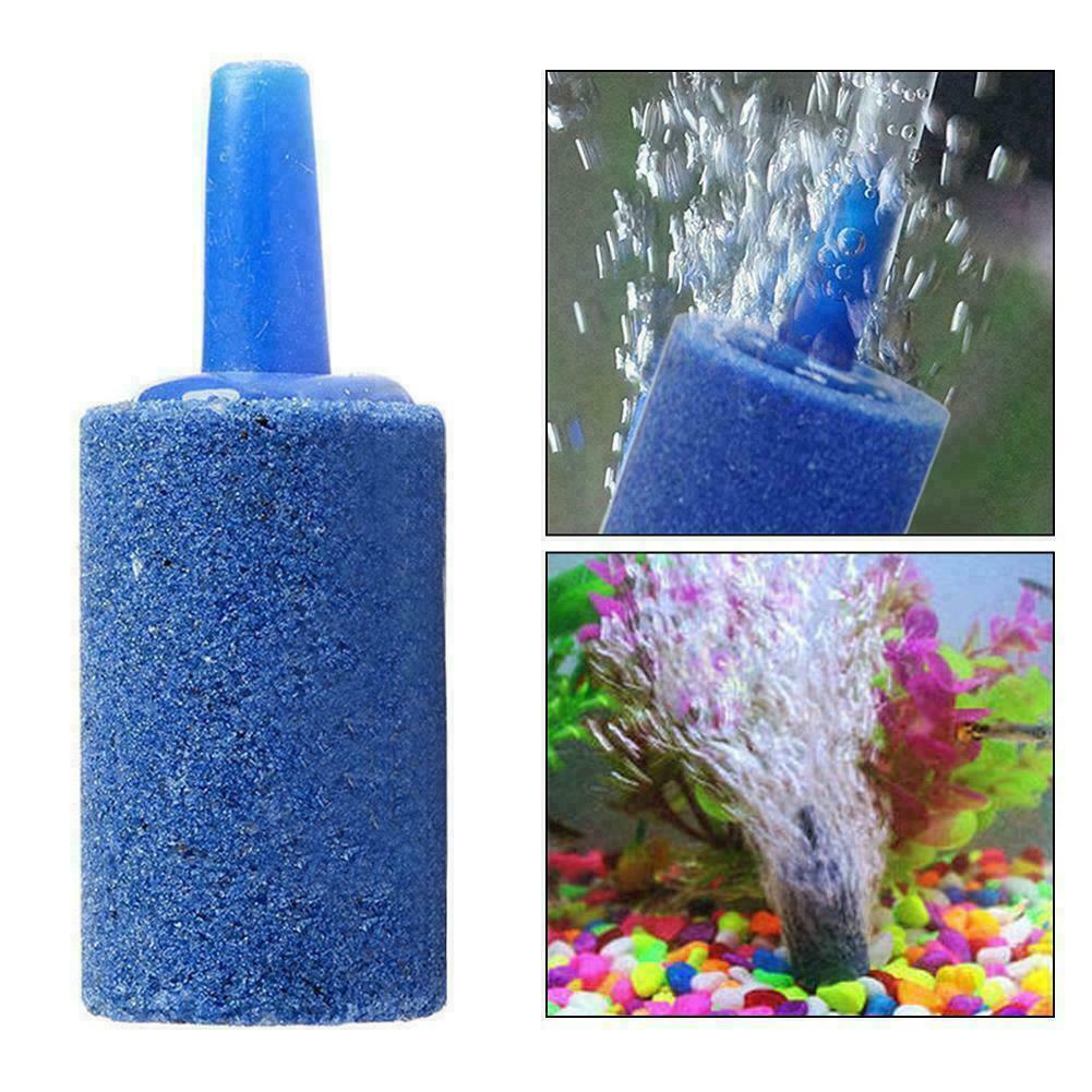 Aquarium Bubble Air Stone Aerator Diffuser Fish Pump Oxygen Hydroponic Y4A2 F1Q6 - $6.58