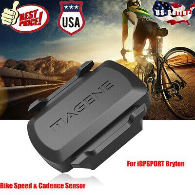 Smart Wireless Bluetooth 4.0 ANT PX7 Waterproof Cycling Speed Cadence Sensor US