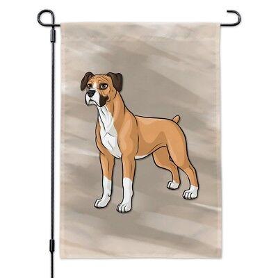 Boxer Pet Dog Garden Yard Flag - Boxer Garden Flag