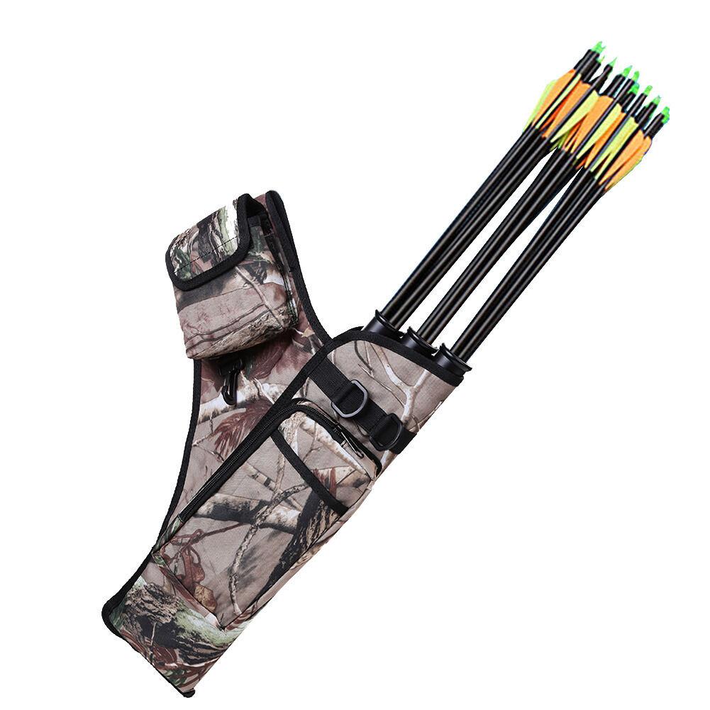 Pop Bow Bag Arrow Holder Adjustable Shoulder Strap Archery
