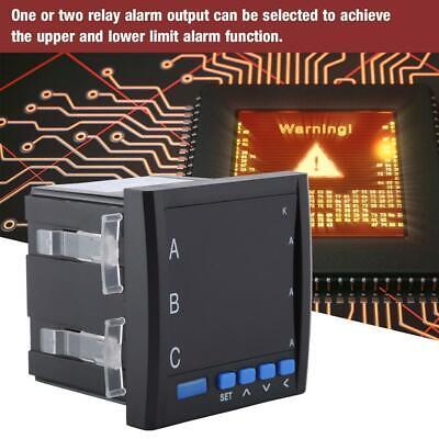 Multifunction Ac Voltage Current Meter Voltmeter Ammeter Digital Led Three-phase