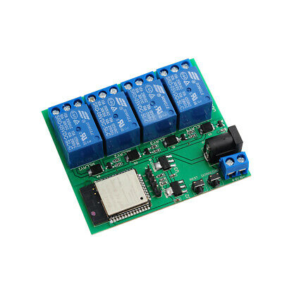 Diymall 4 Channel Esp8266 Wifi Bluetooth Network Relay Module Buit Esp32 Esp32s