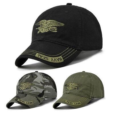 Cool Unisex Military Adjustable Outdoor Hunting Fishing Snapback Baseball Cap