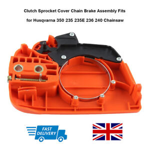 Clutch Sprocket Cover Chain Brake Assembly Fits for Husqvarna  235 235E 236 240