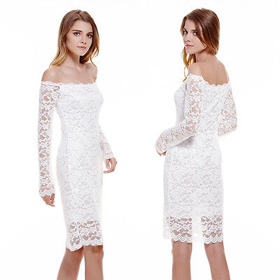 Lace Sexy Women Bandage Evening Party Cocktail Summer Bodycon Pencil Dress