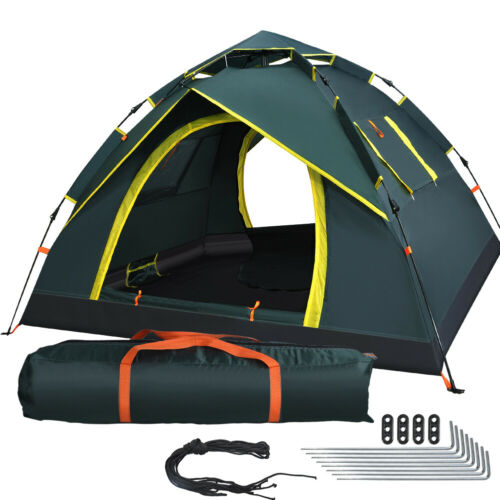 3 Personen Wurfzelt Pop Up Automatikzelt Campingzelt Kuppelzelt Trekkingzelt
