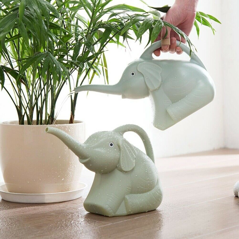 Garden Watering Can 2 quart Elephant shape 1/2 Gallon Home P