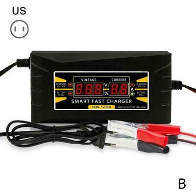 12V 6A Auto Fast Smart Lead Acid GEL Battery Charger For Car...