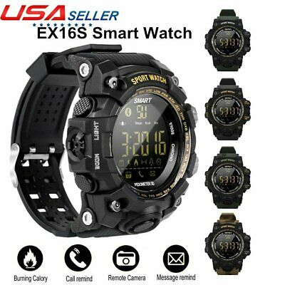 EX16S Waterproof Smart Watch Calorie Pedometer Fitness Activity Tracker Bracelet