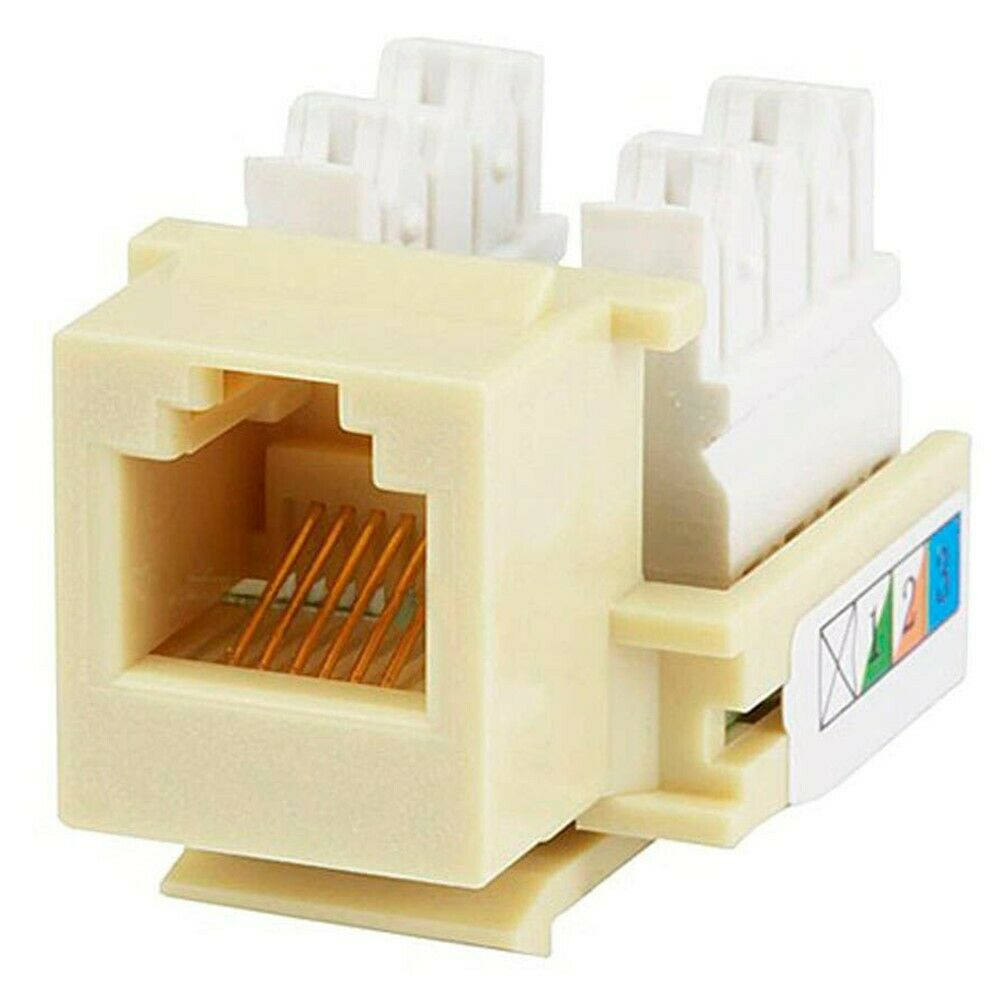 Rj11 Rj12 Keystone Jack Telephone Phone Voice Type 110 Idc