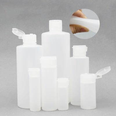 12ml 30ml 50ml 100ml 400ml White Plastic Squeezable Lotion Creme Comestic Bottle