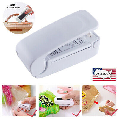 Mini Heat Sealing Machine Portable Impulse Seal Packing Food Plastic Bag Sealer