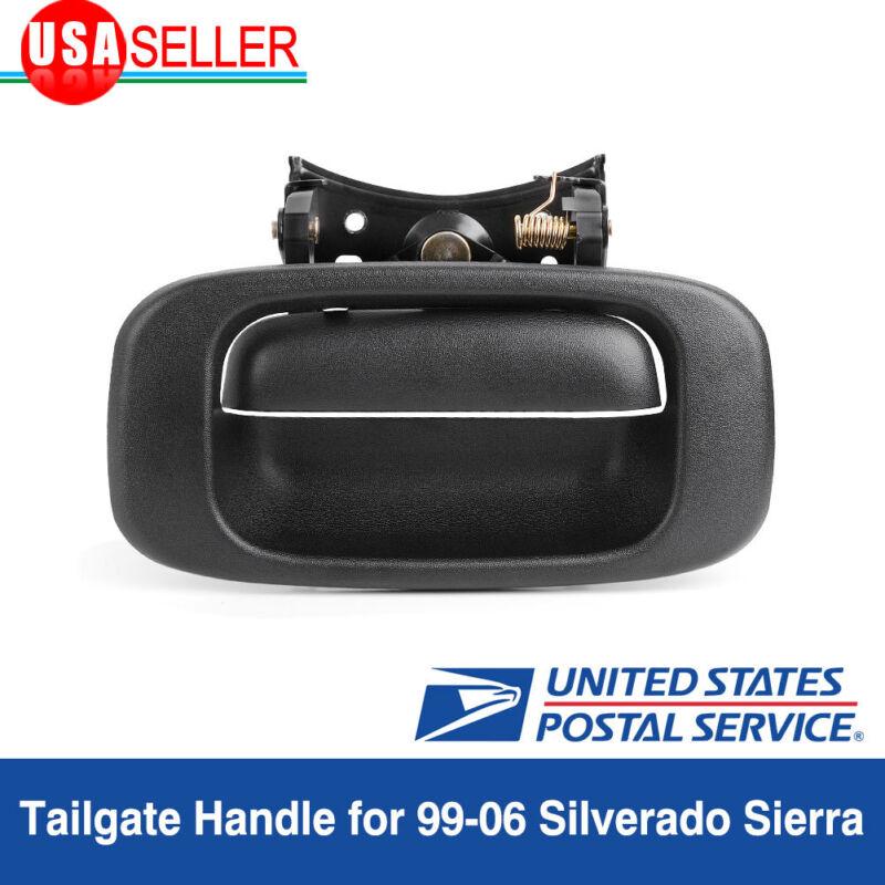For 1999-2007 Chevy Silverado GMC Sierra Tailgate Handle and Bezel Trim Kit Set