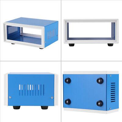 6.7 X 5.1 X 3.1 Blue Metal Enclosure Project Case Diy Junction Box Stw